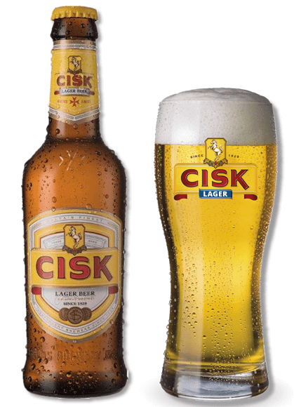cisk bottle glass